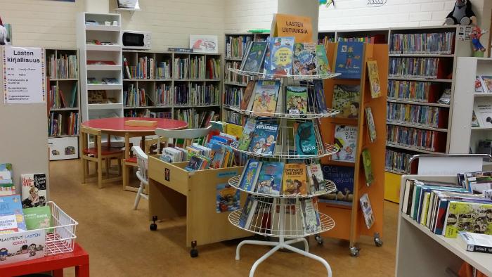 Posion kirjaston lastenosasto
