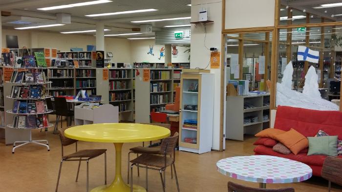 Posion kirjaston nuortenosasto