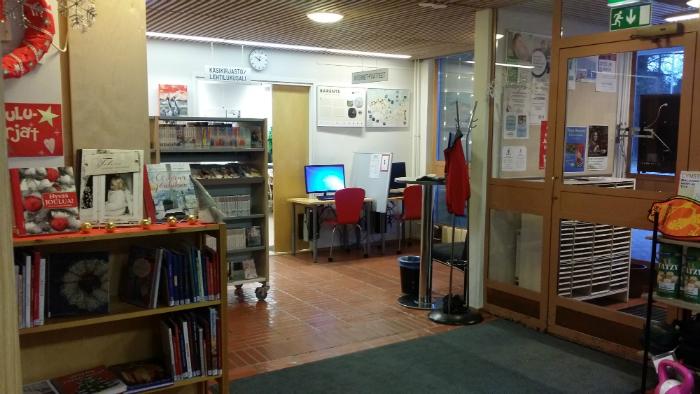 Tervolan kirjaston aula