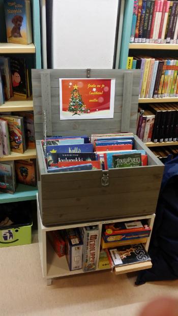 Tervolan kirjaston joulukirjat