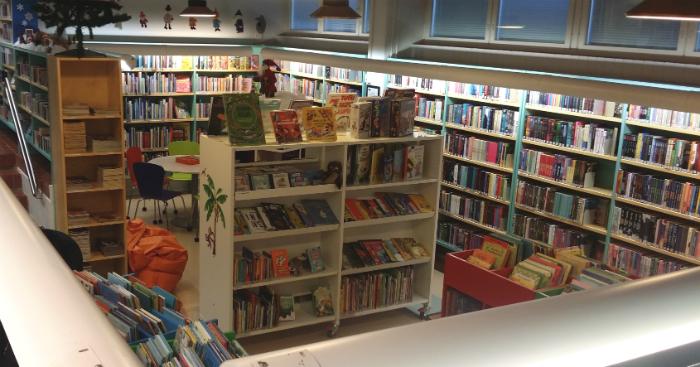 Tervolan kirjaston lastenosasto