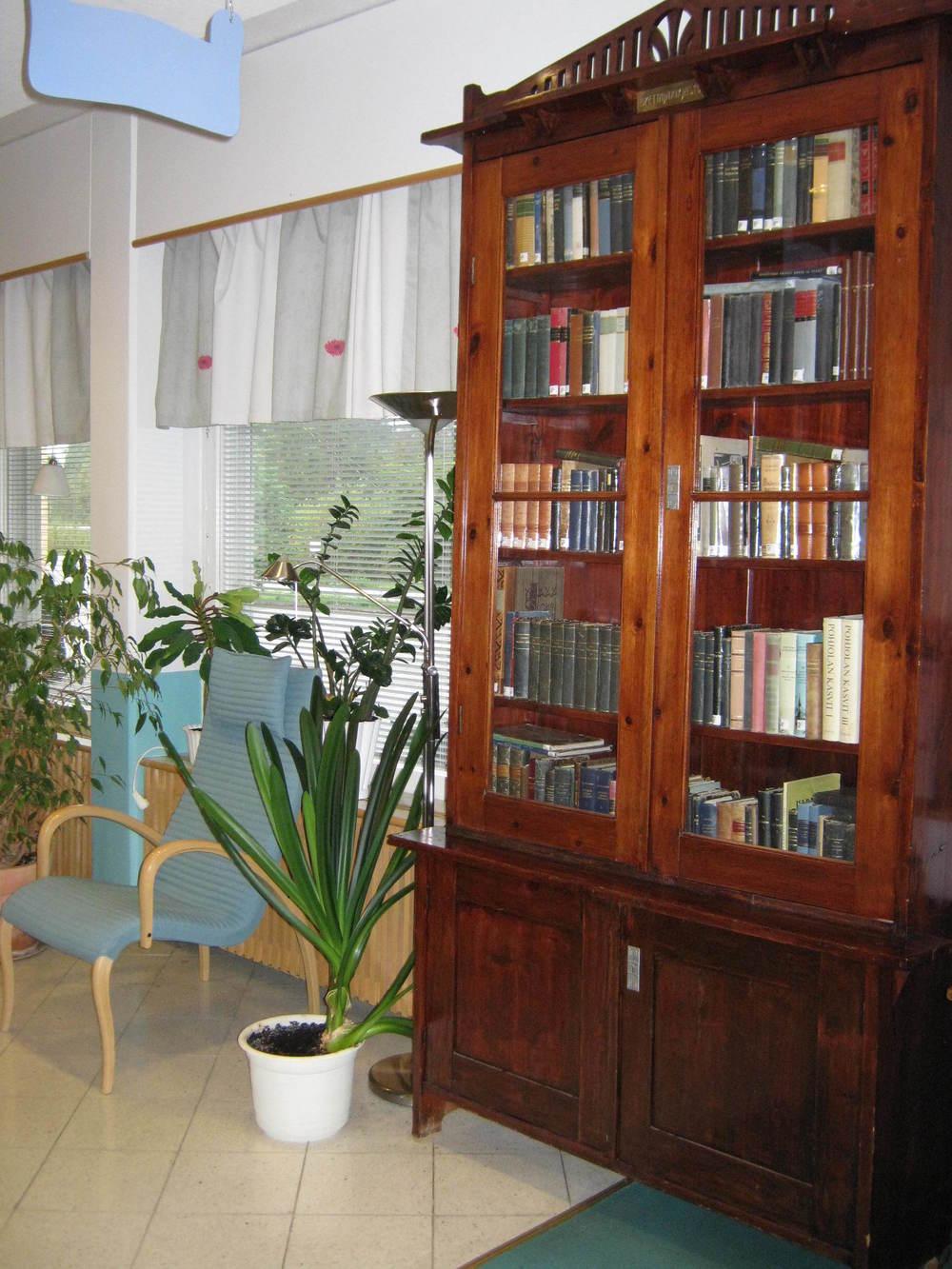 Simon kirjaston sisäkuva