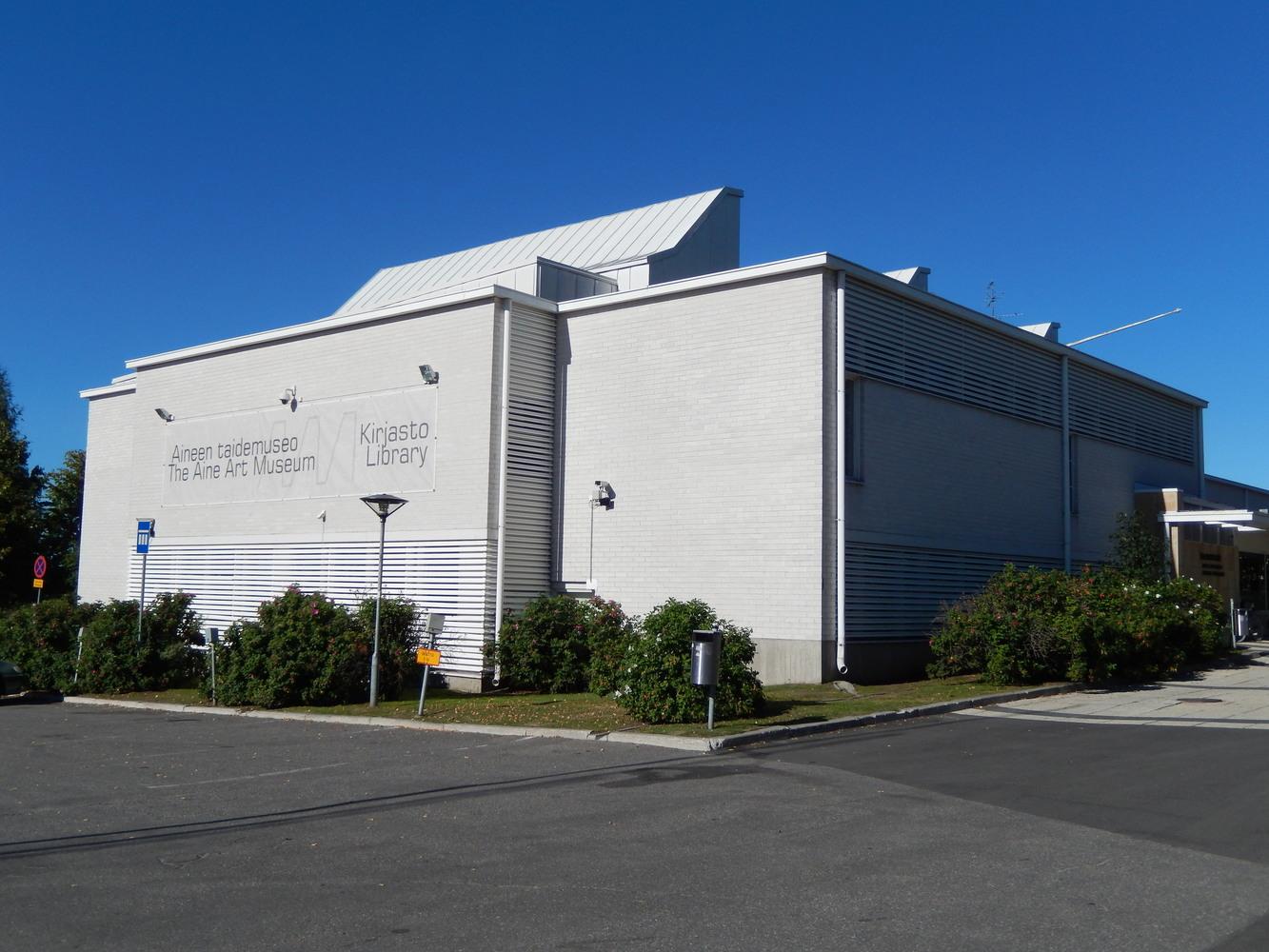 Tornion kaupunginkirjaston julkisivu